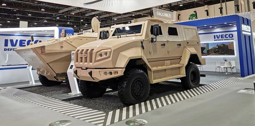 Компания Iveco представила бронированный тактический автомобиль (Medium Tactical Vehicle).
