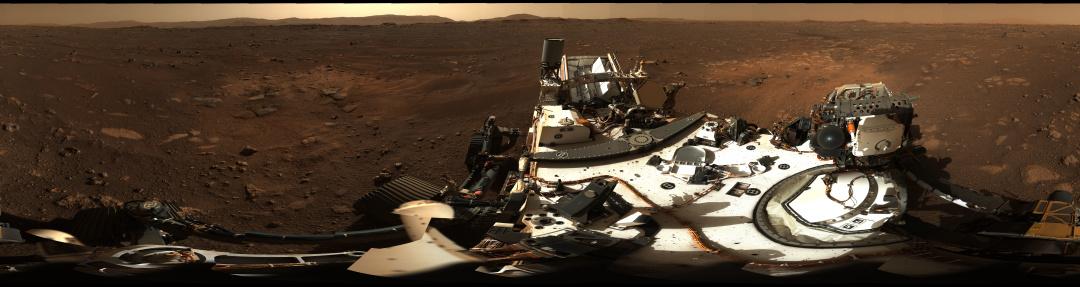 NASA показало Марс на знімку в 360 градусів (ФОТО)