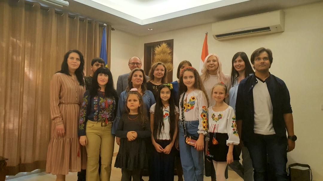 Фото: Посольств України в Республіці Індія