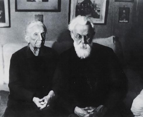 подружжя Вернадських, 1940 р.