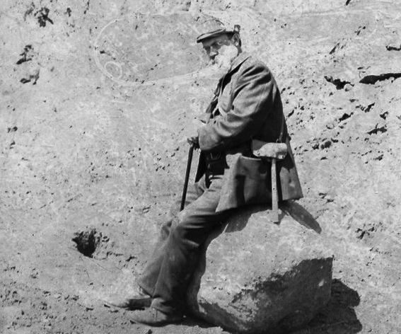 професор В.І.Вернадський на екскурсії в околицях Бата, Англія, 1910-1911 рр.
