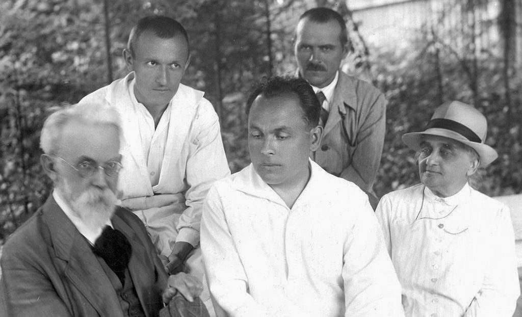 В.І.Вернадський серед вчених, 1934-1938 рр.