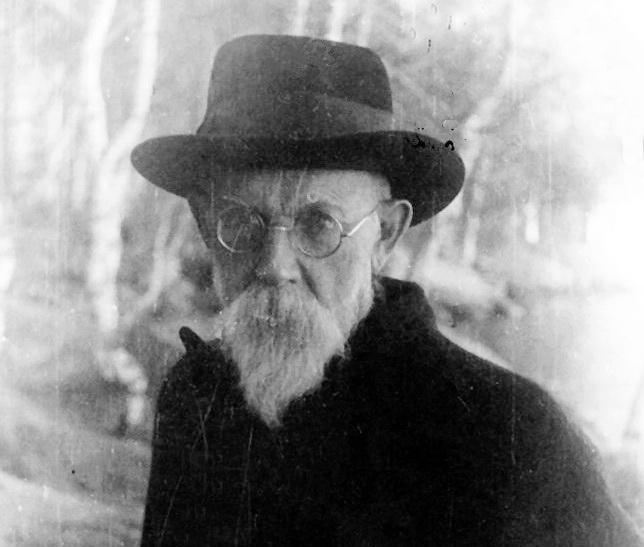 В.І.Вернадський у Боровому під час евакуації, 1942 р.