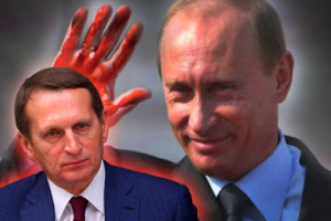 Russian President Sergey Naryshkin, or child of warring Russian secret services