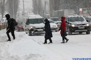 Kyjiw schließt Schulen und Kitas wegen Unwetters