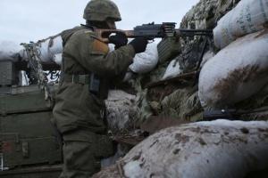 Російські окупанти п'ять  разів порушили «тишу», поранений боєць ООС