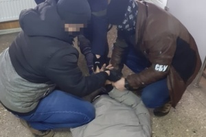 Ukrainian counterintelligence officers detain two FSB agents