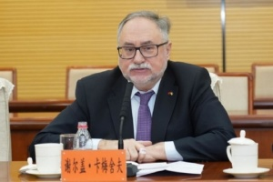 Botschafter der Ukraine in China Kamyschew stirbt mit 64 Jahren