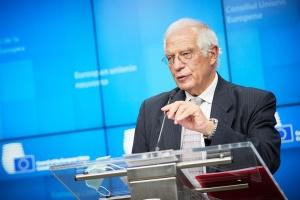 Josep Borrell : Nous demandons à la Russie de retirer ses troupes à la frontière ukrainienne