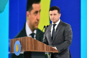 Зеленський завтра візьме участь у Всеукраїнському форумі «Україна 30. Цифровізація»