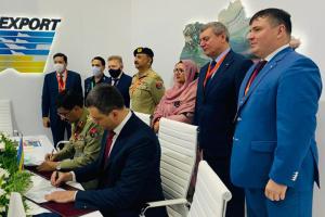 IDEX 2021: Ucrania firma contrato con Pakistán por USD 85,6 millones