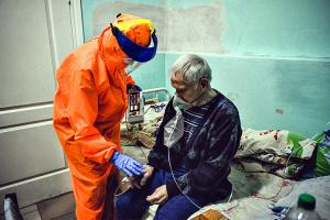 Na Ukrainie zarejestrowano 4182 nowe przypadki COVID-19
