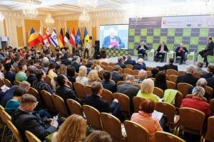 Najważniejsza walka o demokrację na świecie toczy się na Ukrainie - forum bezpieczeństwa