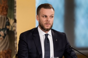 Außenminister Litauens Landsbergis besucht Kyjiw