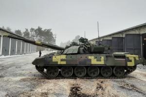 Киевский бронетанковый завод модернизировал пять танков Т-72