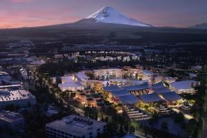 Toyota строит прототип «умного города» у горы Фудзи