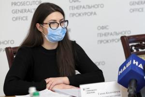 Анна Коломийчук, прокурор Одесской облпрокуратуры