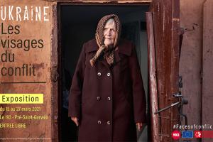 Exposition « Ukraine : Les visages du conflit » se tiendra en Ile-de-France au mois de mars