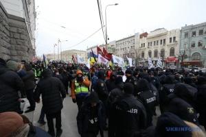 В Харькове депутата ОПЗЖ и ее сторонников погнали с площади активисты