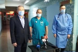 Перше щеплення від коронавірусу зробили на Житомирщині