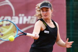 Дар'я Снігур вийшла до другого кола турніру ITF в Пуатьє
