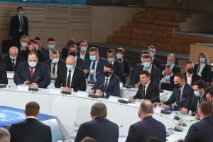 Децентрализация: Зеленский призвал Раду принять изменения в Конституцию