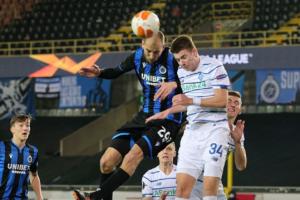 «Динамо» перемогло «Брюгге» в 1/16 фіналу Ліги Європи УЄФА