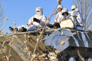 Zehn Angriffe der Besatzer in der Ostukraine