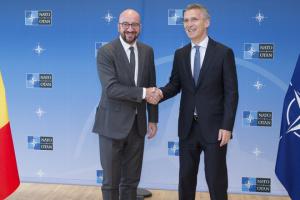 Мішель і Столтенберг назвали спільний пріоритет для ЄС і НАТО