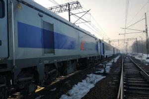 У Польщі локомотив зіткнувся з потягом, є постраждалі