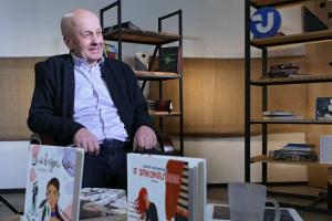 Василий Теремко, писатель: Книга печатная и цифровая в определенных пропорциях будут сосуществовать и не «съедать» друг друга