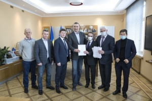 Киев и ЕБРР подписали кредитный договор на покупку 50 новых вагонов метро