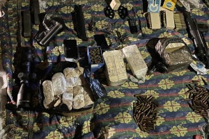 В Киеве задержали торговца оружием и гранатами