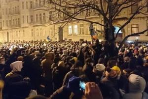 Дело Стерненко: Полиция позволила активистам митинговать на Банковой в субботу