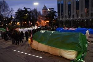 Опозиція в Грузії заявила про початок «безстрокових протестів»