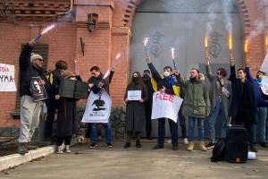 В Одессе активисты пришли к СИЗО, где содержится Стерненко
