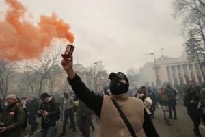 Організатори акції на підтримку Стерненка заявляють, що вона буде безстроковою