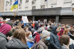 Полиция не зафиксировала нарушений на акции «Справедливость Стерненко - справедливость всем»