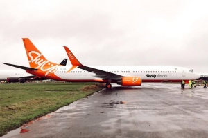 Запізнилися на 14 годин: літак SkyUp поламався на шляху із Занзібару до Києва