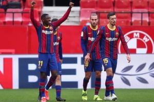 «Барселона» обіграла «Севілью» і вийшла на друге місце Ла Ліги