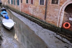 У Венеції висихають знамениті канали