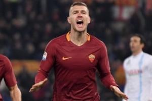«Рома» потеряла лидера атак Джеко на первый матч против «Шахтера»