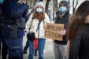 В Варшаве прошла акция в поддержку Стерненко