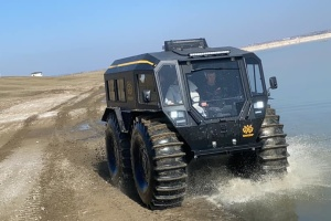 Україна презентувала в Туреччині унікальний всюдихід SHERP