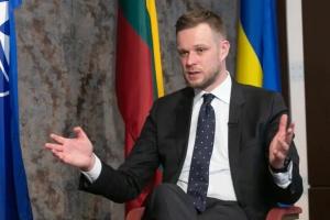 """""""Trójkąt Lubelski"""" przybliża integrację europejską Ukrainy - powiedział litewski minister spraw zagranicznych"""