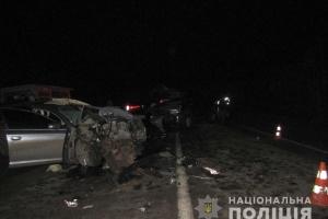 Под Мелитополем Audi выехала на «встречку» и столкнулась с Toyota, есть погибшие