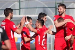 Два пенальти помогли «Минаю» обыграть «Олимпик» в матче футбольной Премьер-лиги
