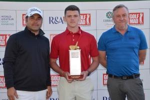 Украинец победил на турнире по гольфу в Турции