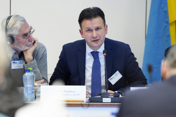 Andriy Nadzhos, asesor de la Misión de Ucrania ante la UE