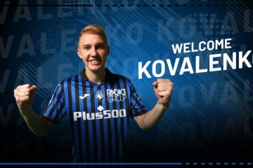 L'Ukrainien Viktor Kovalenko rejoint l'Atalanta Bergame